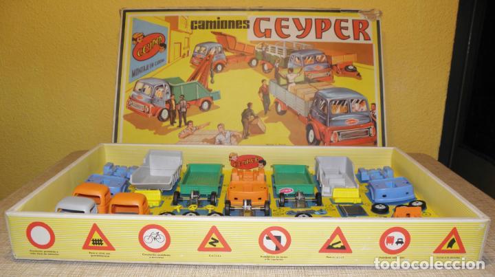 Juguetes antiguos: GEYPER MONTAJE DE CAMIONES CAJA REF 503 - Foto 5 - 158744782