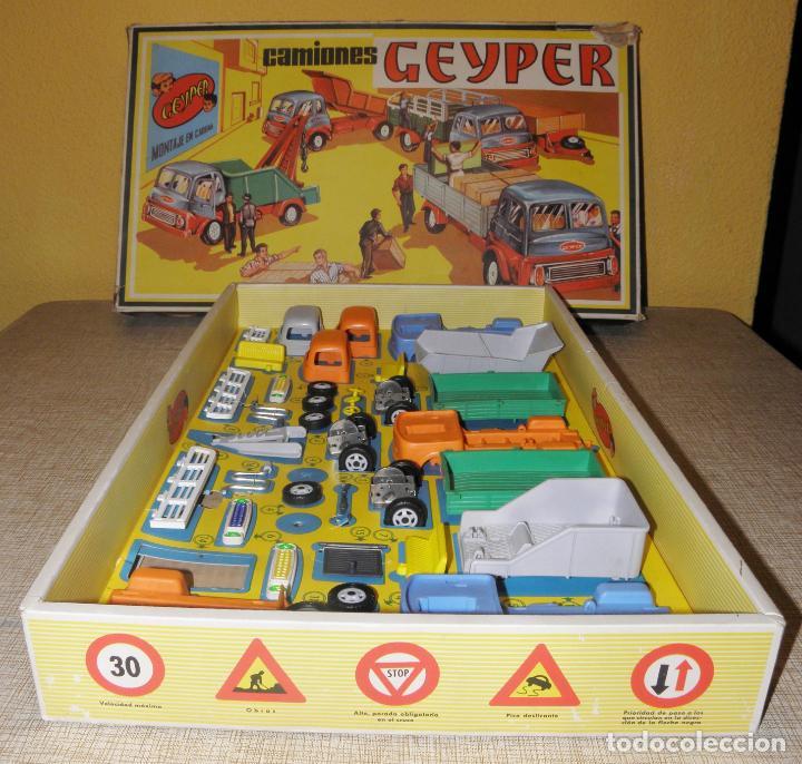 Juguetes antiguos: GEYPER MONTAJE DE CAMIONES CAJA REF 503 - Foto 6 - 158744782