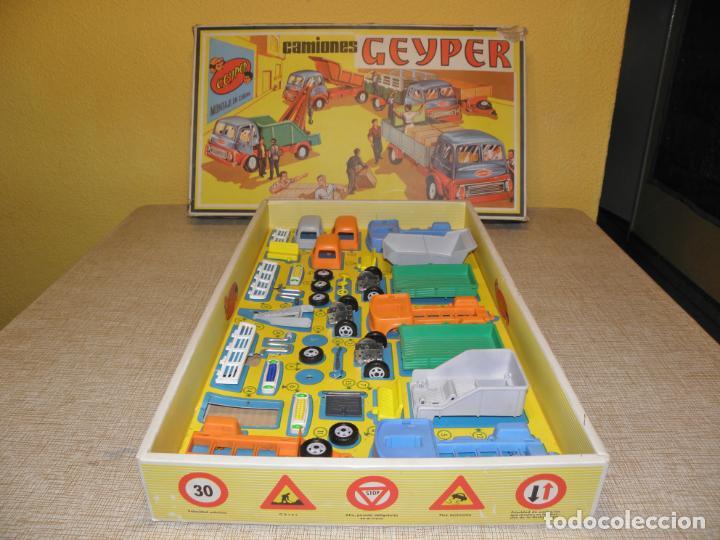 Juguetes antiguos: GEYPER MONTAJE DE CAMIONES CAJA REF 503 - Foto 7 - 158744782