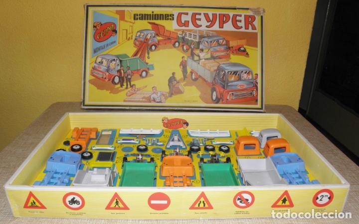 Juguetes antiguos: GEYPER MONTAJE DE CAMIONES CAJA REF 503 - Foto 8 - 158744782