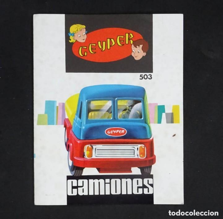 Juguetes antiguos: GEYPER MONTAJE DE CAMIONES CAJA REF 503 - Foto 14 - 158744782
