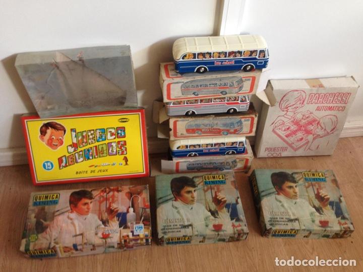 Juguetes antiguos: Importante lote resto de tienda de juguetes en madrid - Foto 6 - 159440833