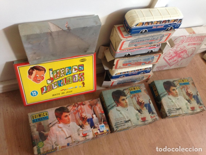 Juguetes antiguos: Importante lote resto de tienda de juguetes en madrid - Foto 8 - 159440833
