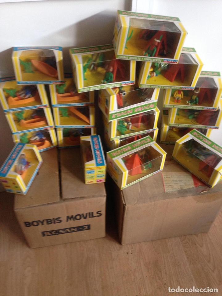 Juguetes antiguos: Importante lote resto de tienda de juguetes en madrid - Foto 9 - 159440833