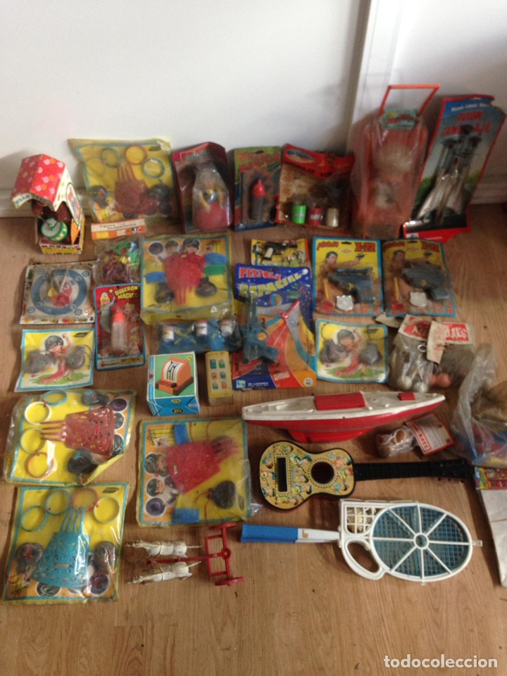 Juguetes antiguos: Importante lote resto de tienda de juguetes en madrid - Foto 18 - 159440833