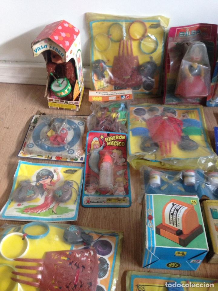 Juguetes antiguos: Importante lote resto de tienda de juguetes en madrid - Foto 20 - 159440833
