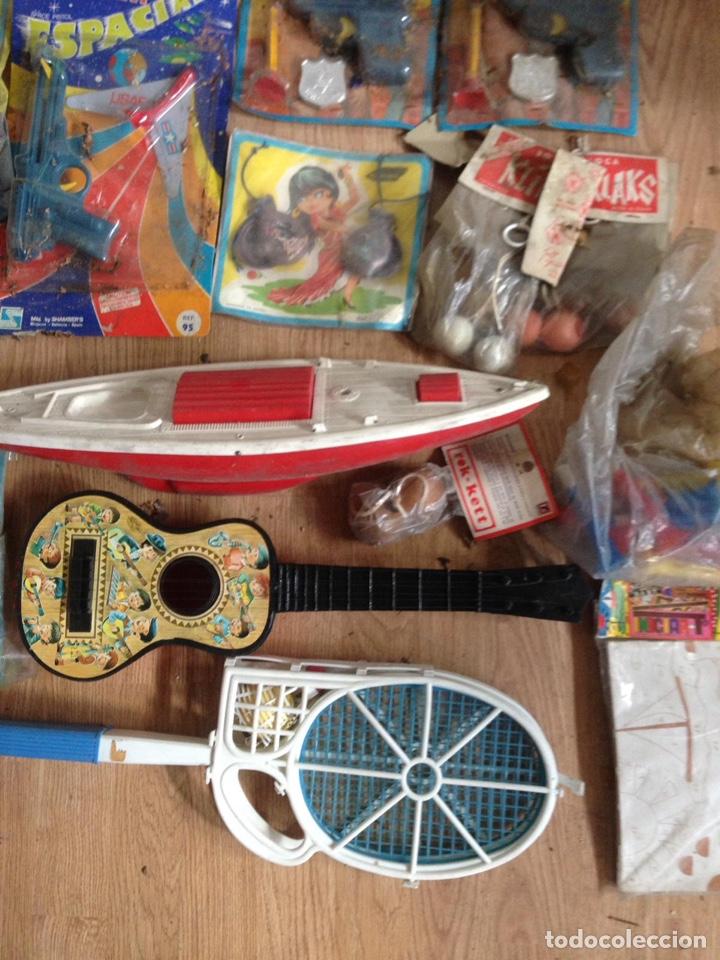 Juguetes antiguos: Importante lote resto de tienda de juguetes en madrid - Foto 21 - 159440833