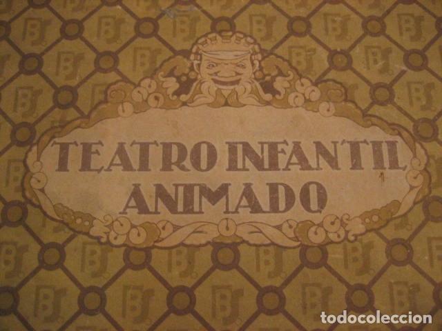 Juguetes antiguos: ESPECTACULAR TEATRO INFANTIL ANIMADO SIRVEN, SEMEJANTE A SEIX BARRAL EN CAJA ORIGINAL MUY RARO - Foto 15 - 159736318
