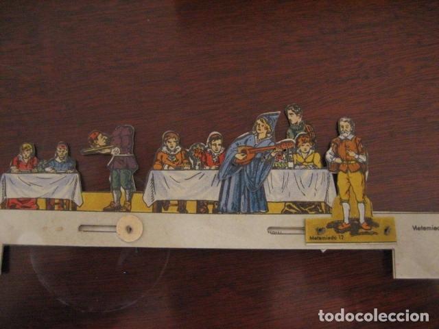 Juguetes antiguos: ESPECTACULAR TEATRO INFANTIL ANIMADO SIRVEN, SEMEJANTE A SEIX BARRAL EN CAJA ORIGINAL MUY RARO - Foto 25 - 159736318