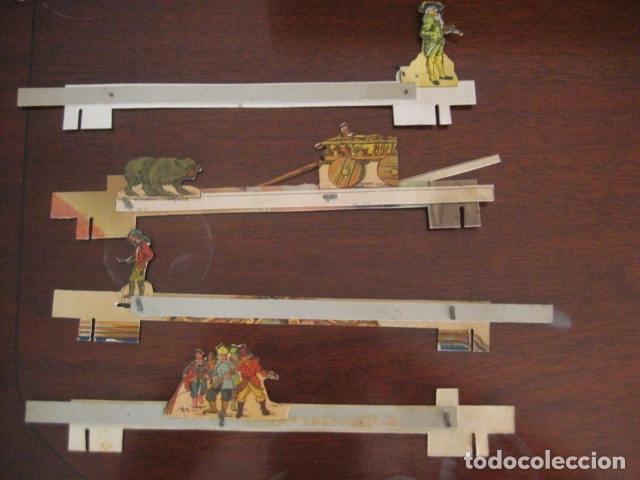 Juguetes antiguos: ESPECTACULAR TEATRO INFANTIL ANIMADO SIRVEN, SEMEJANTE A SEIX BARRAL EN CAJA ORIGINAL MUY RARO - Foto 38 - 159736318