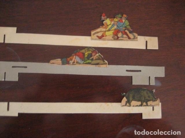 Juguetes antiguos: ESPECTACULAR TEATRO INFANTIL ANIMADO SIRVEN, SEMEJANTE A SEIX BARRAL EN CAJA ORIGINAL MUY RARO - Foto 39 - 159736318