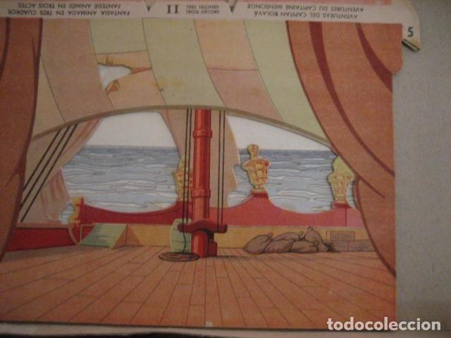 Juguetes antiguos: ESPECTACULAR TEATRO INFANTIL ANIMADO SIRVEN, SEMEJANTE A SEIX BARRAL EN CAJA ORIGINAL MUY RARO - Foto 42 - 159736318