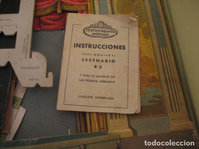 Juguetes antiguos: ESPECTACULAR TEATRO INFANTIL ANIMADO SIRVEN, SEMEJANTE A SEIX BARRAL EN CAJA ORIGINAL MUY RARO - Foto 54 - 159736318
