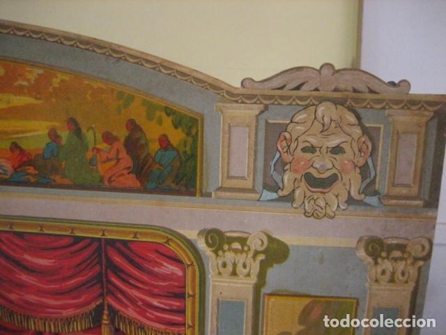 Juguetes antiguos: ESPECTACULAR TEATRO INFANTIL ANIMADO SIRVEN, SEMEJANTE A SEIX BARRAL EN CAJA ORIGINAL MUY RARO - Foto 66 - 159736318