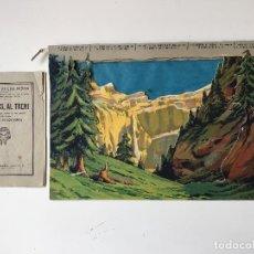 Juguetes antiguos - Seix Barral decorados de teatro Viajeros al tren - 160819326