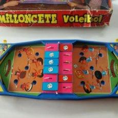 Juguetes antiguos - MILLONCETE VOLEIBOL DE AIRGAM 1970s // PINBALL JUEGO DE MESA YE YE POP // FUNCIONA - 161106714