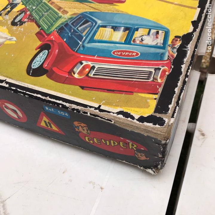 Juguetes antiguos: Camiones Geyper Montaje En Cadena Caja 504 - Foto 2 - 161141720