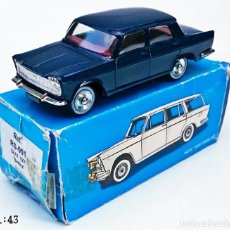 Juguetes antiguos: SCALE CARR SEAT 1500 BERLINA - AZUL OSCURO. Lote 56026594
