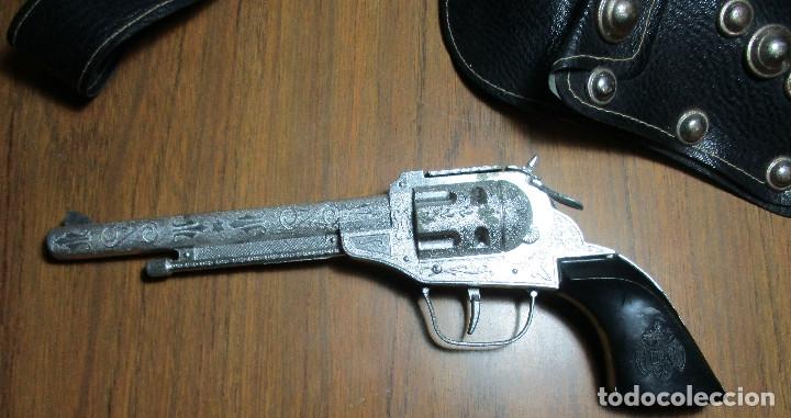 Juguetes antiguos: juguete del oeste holster o funda con pistola y cinturón años 60-70, JOAL - Foto 2 - 163493505