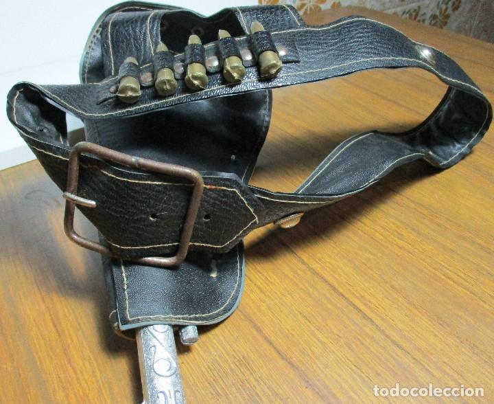 Juguetes antiguos: juguete del oeste holster o funda con pistola y cinturón años 60-70, JOAL - Foto 13 - 163493505