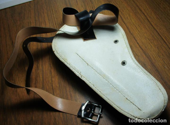 Juguetes antiguos: juguete del oeste holster o funda con pistola y cinturón años 60-70, JOAL - Foto 9 - 163495478