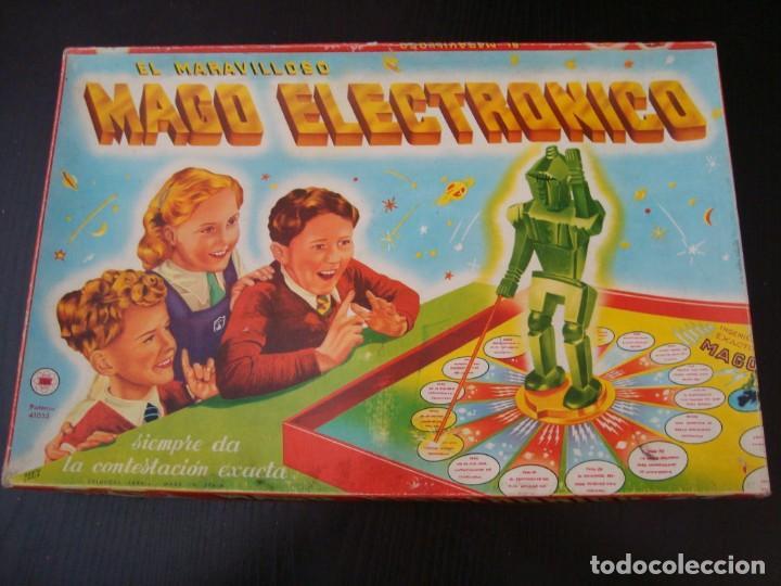 EL MARAVILLOSO MAGO ELECTRÓNICO - AÑOS 50 (Juguetes - Marcas Clasicas - Otras Marcas)