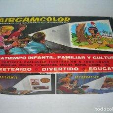 Juguetes antiguos: PROYECTOR CON CALEIDOSCOPIO AIRGAMCOLOR EN SU CAJA ORIGINAL Y EN GRAN ESTADO - AIRGAM AÑOS 60 / 70 -. Lote 163980778
