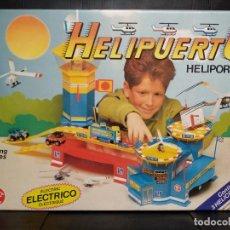 Juguetes antiguos: HELIPUERTO ELÉCTRICO - RIMA - NUEVO. Lote 164079422