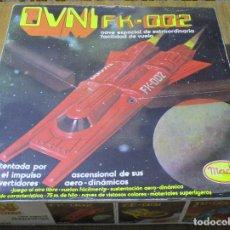 Juguetes antiguos: OVNI FK-002, NAVE ESPACIAL, DE MADEL, UFO, SPACE. Lote 164918758