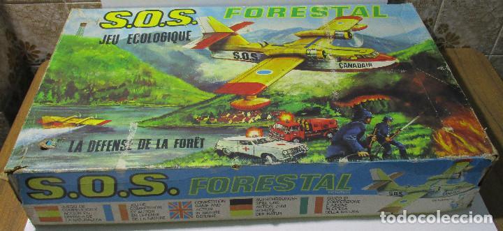 SOS S.O.S. FORESTAL, JUEGO DE HABILIDAD, JUGATI, AÑOS 70 (Juguetes - Marcas Clasicas - Otras Marcas)