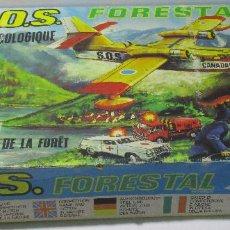 Juguetes antiguos: SOS S.O.S. FORESTAL, JUEGO DE HABILIDAD, JUGATI, AÑOS 70. Lote 164977854