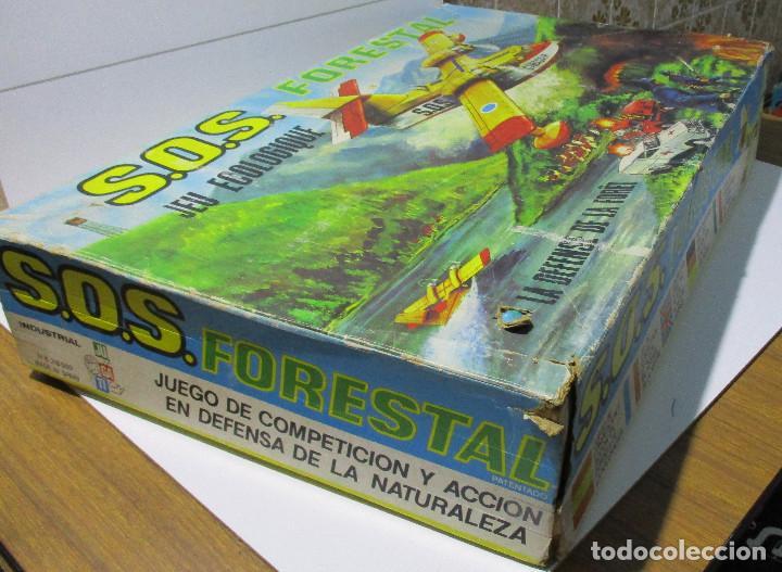 Juguetes antiguos: SOS S.O.S. FORESTAL, juego de habilidad, JUGATI, años 70 - Foto 2 - 164977854