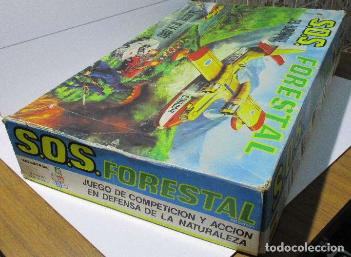 Juguetes antiguos: SOS S.O.S. FORESTAL, juego de habilidad, JUGATI, años 70 - Foto 3 - 164977854