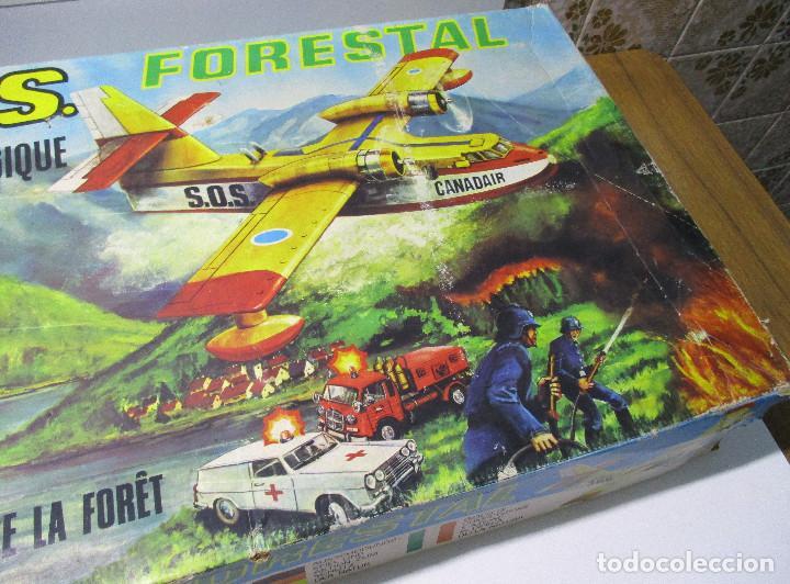 Juguetes antiguos: SOS S.O.S. FORESTAL, juego de habilidad, JUGATI, años 70 - Foto 4 - 164977854