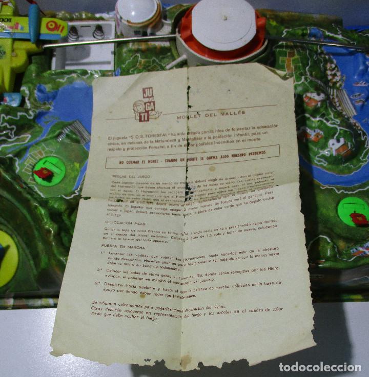 Juguetes antiguos: SOS S.O.S. FORESTAL, juego de habilidad, JUGATI, años 70 - Foto 6 - 164977854