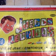 Juguetes antiguos: JUEGOS REUNIDOS GEIPER 50. Lote 166588249