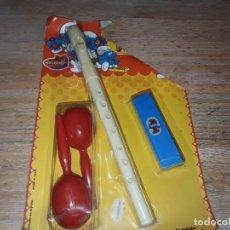 Juguetes antiguos: ORQUESTA PITUFOS, JUGUETES MEDITERRANEO.. Lote 166734206