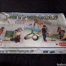 Juguetes antiguos: GEYPERGOLF GEYPER. Lote 166845625