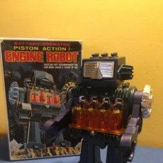 Juguetes antiguos: ENGINE ROBOT. MADE IN JAPAN. A ESTRENAR, DE JUGUETERÍA.. Lote 167451481