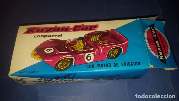 Juguetes antiguos: COCHE DE CARRERAS CHAPARRAL - Foto 5 - 167737800