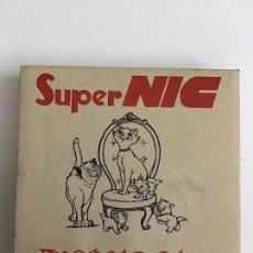 Brinquedos antigos: SUPER NIC, ESTUCHE COMPLETO DE LOS ARISTOGATOS. Lote 168229016