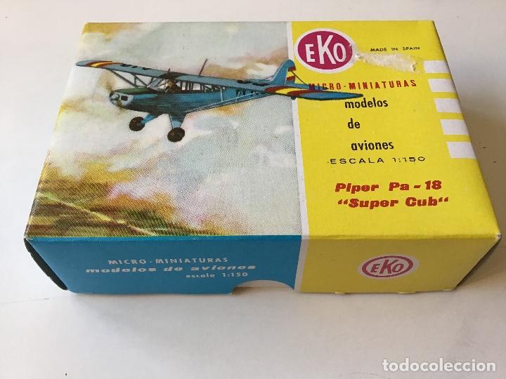 Juguetes antiguos: EKO avioneta Piper Pa-18 Super Cub - Foto 3 - 168459076