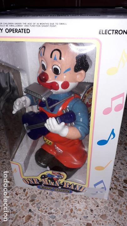 Juguetes antiguos: PAYASO MUSICAL ONE MAN BAND BILLY CLOWN, JUGUETE ANTIGUO, PAYASO CIRCO - Foto 5 - 169204516
