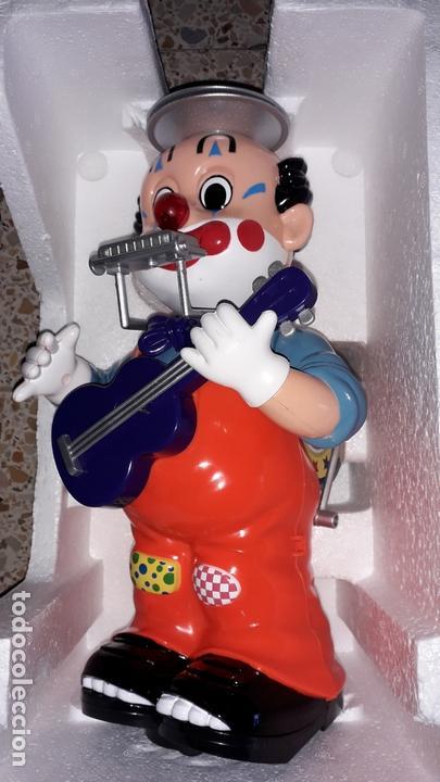 Juguetes antiguos: PAYASO MUSICAL ONE MAN BAND BILLY CLOWN, JUGUETE ANTIGUO, PAYASO CIRCO - Foto 10 - 169204516