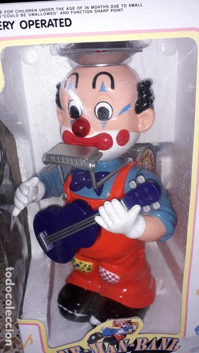 PAYASO MUSICAL ONE MAN BAND BILLY CLOWN, JUGUETE ANTIGUO, PAYASO CIRCO (Juguetes - Marcas Clasicas - Otras Marcas)