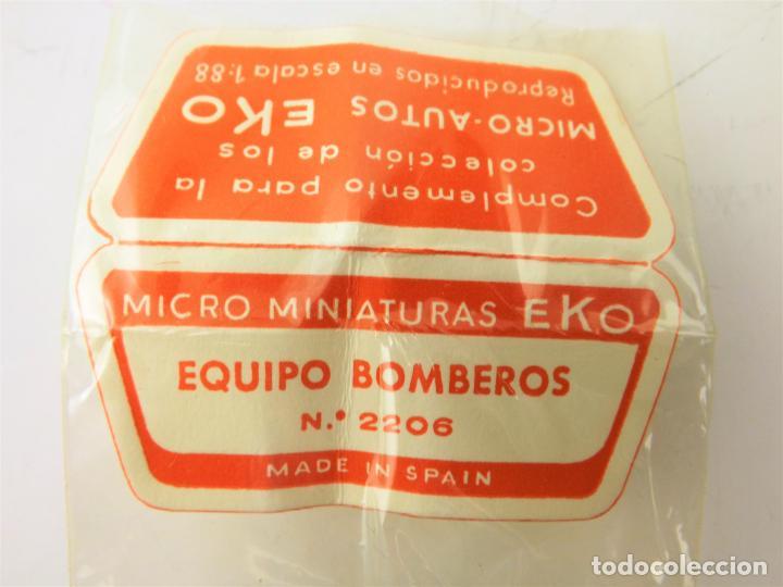 Juguetes antiguos: Bomberos EKO original Bolsita a estrenar - Foto 4 - 289807763