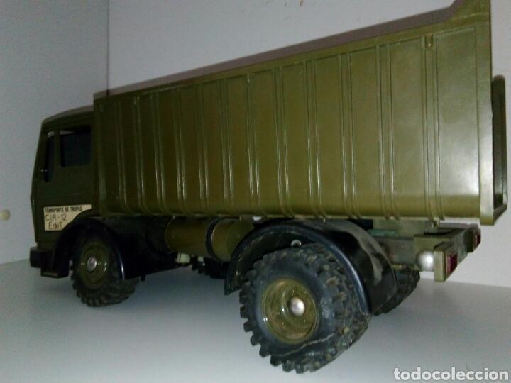 Juguetes antiguos: Camion militar froba tipo rico paya. Sanchis roman - Foto 3 - 169776210