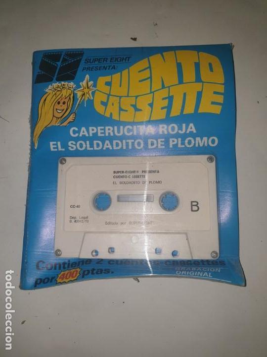 CUENTO CASETTE . CAPERUCITA ROJA Y EL SOLDADITO DE PLOMO (Juguetes - Marcas Clasicas - Otras Marcas)