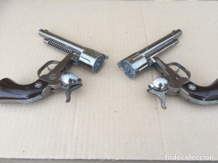 Juguetes antiguos: 2 pistolas Gonher 121 - Foto 2 - 170520880