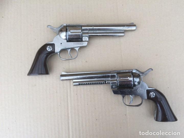 Juguetes antiguos: 2 pistolas Gonher 121 - Foto 3 - 170520880